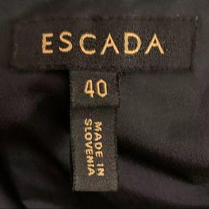 Escada Dresses - ESCADA RUCHED DARK NAVY GOWN SZ 40 - 10 $5995.00